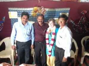 Leah with David, Samuel and Theodore - Bible Society, Gjarat