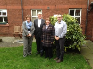 With the Staff of Carlisle House - PCI Rehab centre