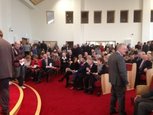 Inside the new Church Building in Drumreagh, near Ballymoney