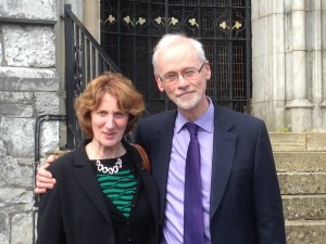 Rev John and Heather Faris, Cork and Aghada